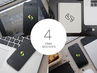 4 Free Mockups