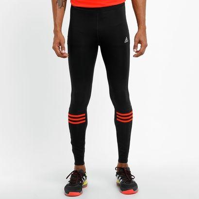Bata os seus recorde de corrida nos dias mais frios com a Calça Legging Adidas Response Preto e Laranja. Feita para ser uma segunda pele, ajusta-se de maneira confortável e mantém o corpo bem ventilado. | Netshoes