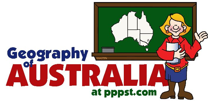 Geography of Australia for kids