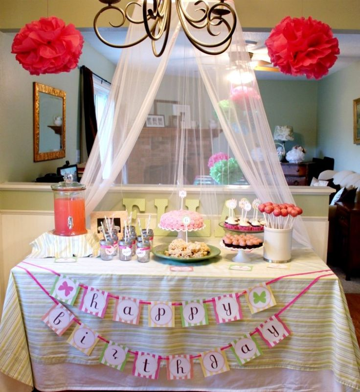 6 Year Old Birthday Party Ideas Girls Birthday Party 1