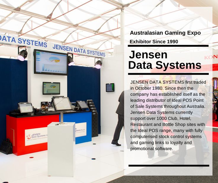 Congratulations JENSEN DATA SYSTEMS on 25 consecutive years at the Australasian Gaming Expo. www.jensen.com.au
