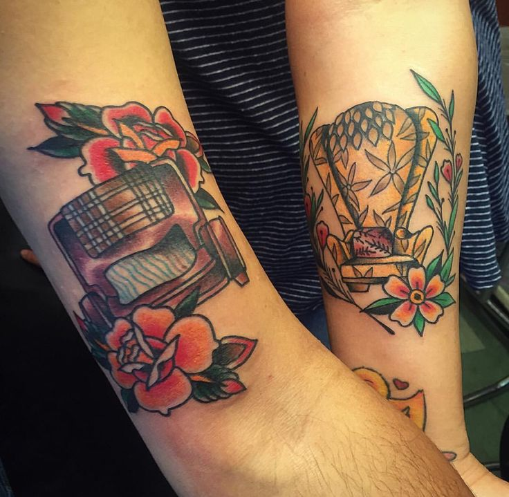 The 25+ Best His And Hers Tattoo Ideas On Pinterest