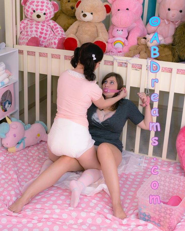 Ddlg abdl diapered ladies sarah in aby clothing playtime - 3 1