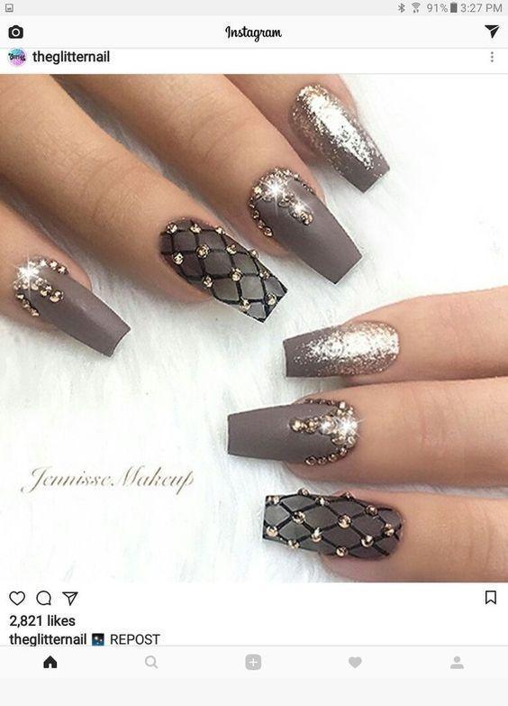 Bonitos diseños de uñas que me gustan - #bonitos #gustan