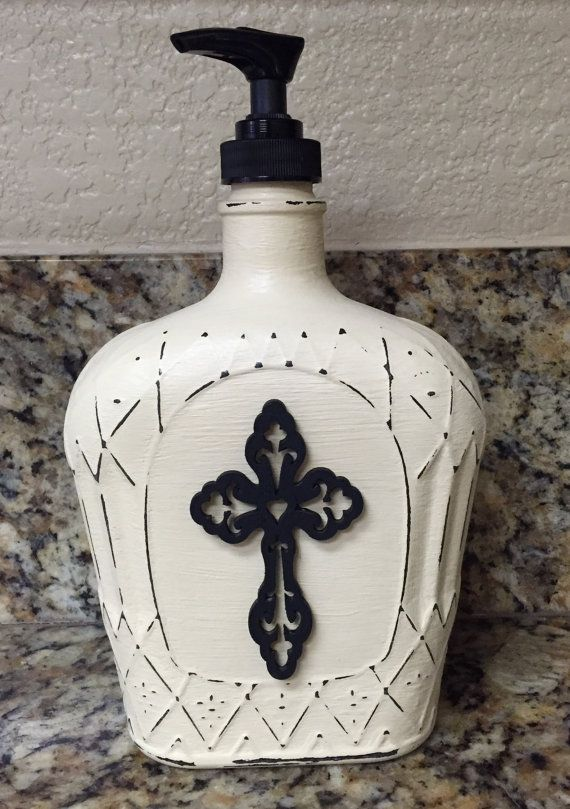 Repurposed Crown Royal Bottles by Royaltyinabottle on Etsy