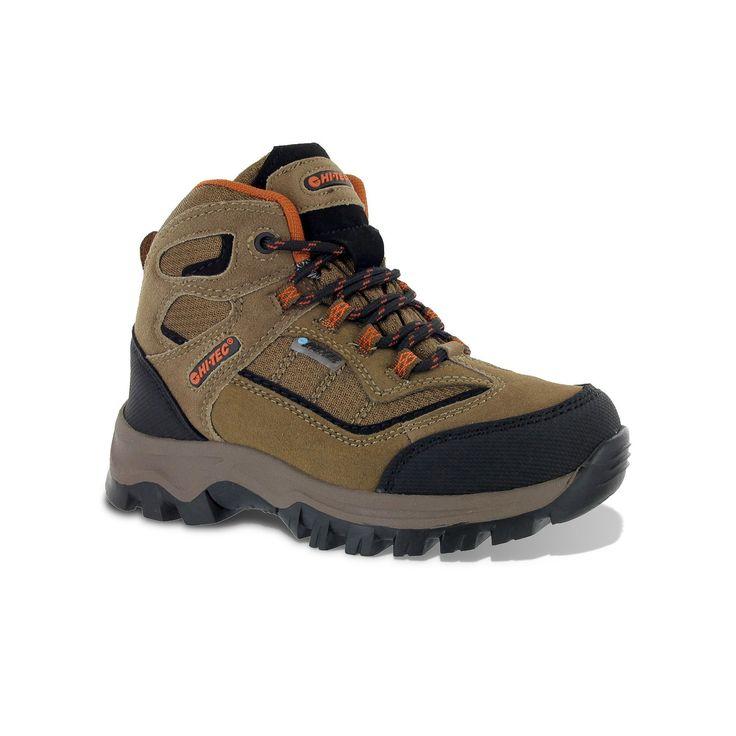 Hi-Tec Hillside Waterproof Jr. Boys' Hiking Boots, Boy's, Size: 6.5, Brown