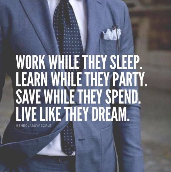 Work while they sleep..