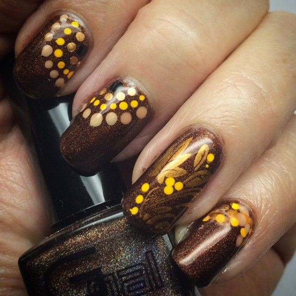 Gorgeous Autumn Inspired Nails: 43 Best Images About Fall Nail Design On Pinterest