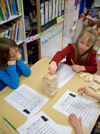 Fun way to practice sight words. Write words on Jenga blocks, place face down, scholars pick one and read it, all write the word, build up the tower. Afterwards, they can play Jenga!