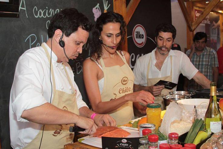 Inauguración junto a Tere Hales y Francisco Pérez - Bannen