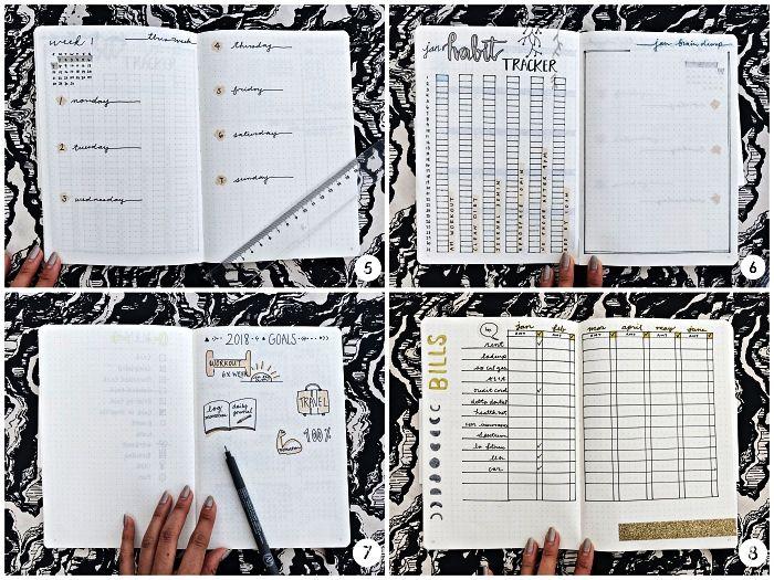 1001 Mises En Pages Pour Trouver La Meilleure Idée De Bullet Journal Bullet Journal Tracker D Humeur Journal