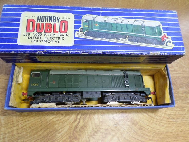 Hornby Dublo 3 Rail L30 1000 B.H.P Bo-Bo Diesel Electric locomotive by RoseCollectable on Etsy
