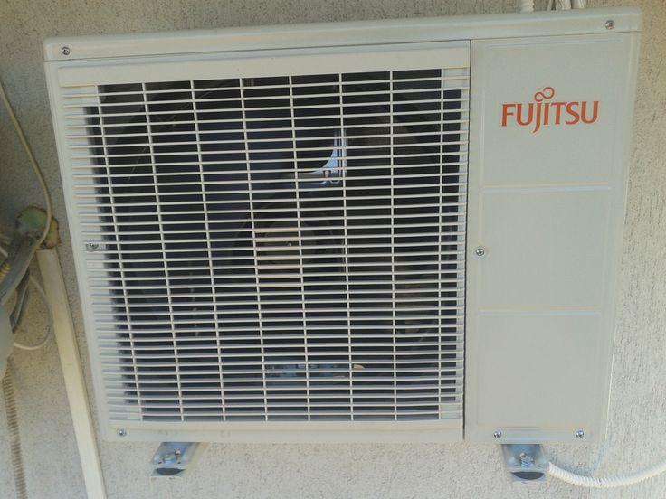 Fujitsu klíma kültéri egysége felszerelve Budapesten. Fujitsu - japán minőség, 10 év garancia, csendes működés! Klímaszerelés, minőségi klímák forgalmazása Budapesten és környékén megfizethető árakon. Gyors, precíz klímaszerelés 5 év garanciával, 12 év tapasztalattal, klímajavítási gyakorlattal is! http://www.klima-budapest.eu