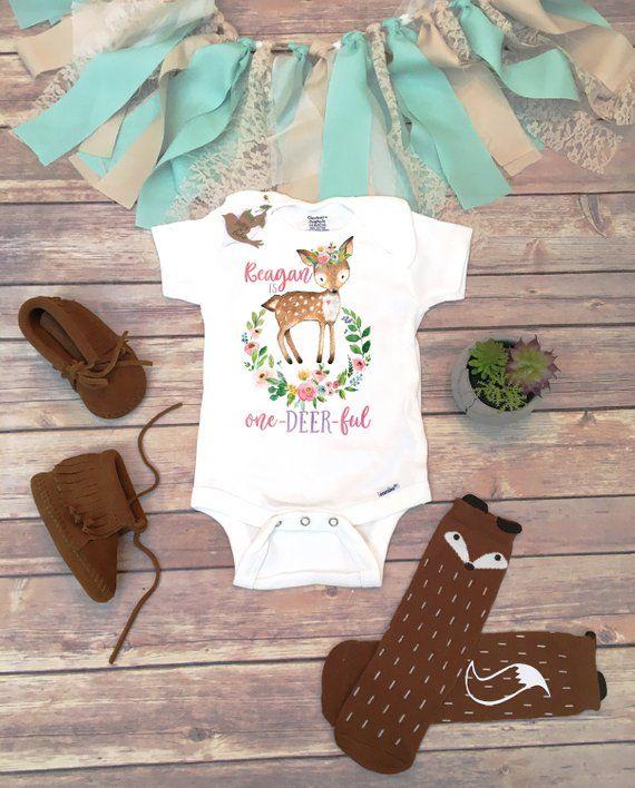 Adorable Wild Animal Inspired BabyToddler Bodysuit