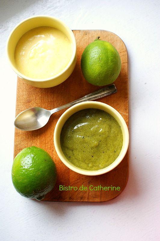 Lime curd-krem limonkowy  #BistroDeCatherine