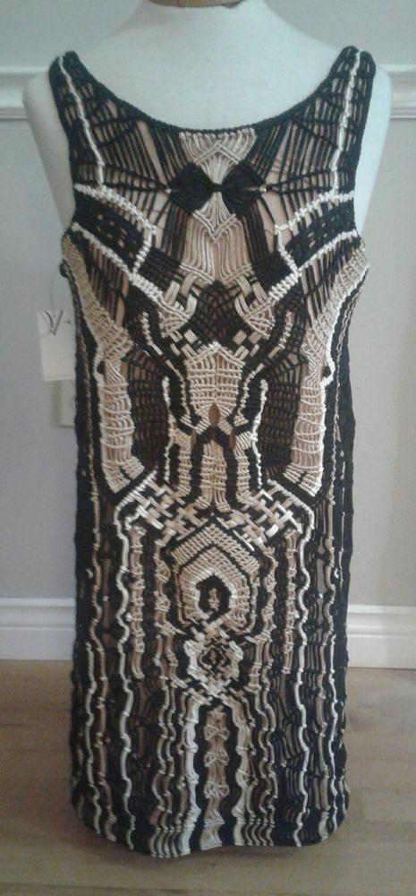 Diane Von Furstenberg Dress New With Tags Size Medium Sexy | eBay