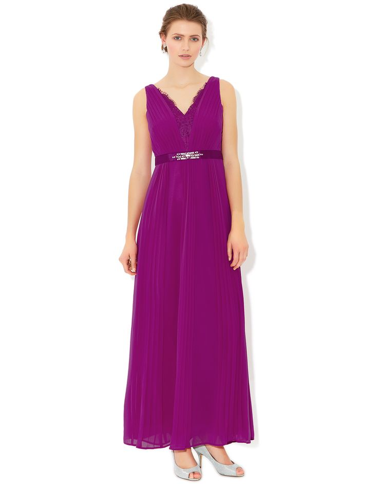Isobella Maxi Dress | Pink | Monsoon | bmaid dresses | Pinterest ...
