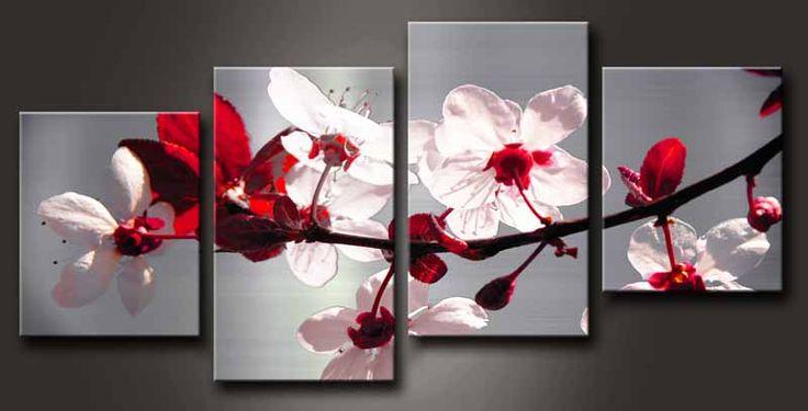 cuadros modernos de flores - Buscar con Google