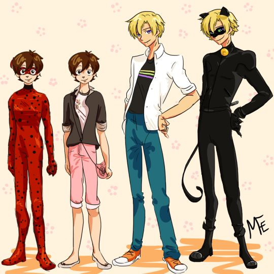 Is it just me or does Tamaki make a great Adrien/Chat Noir? I mean he is French after all...