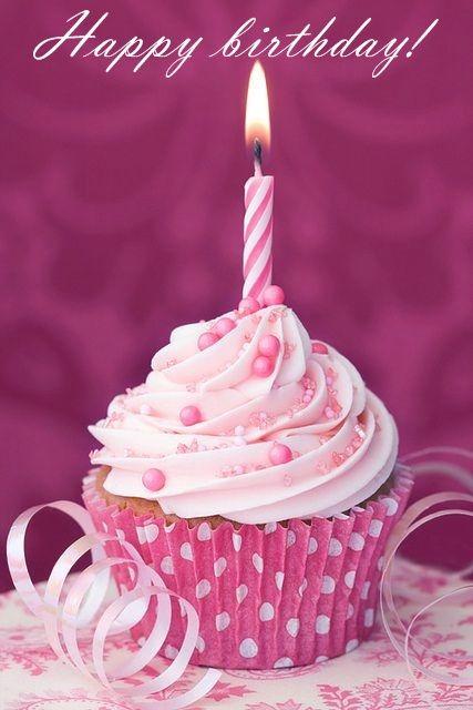 Happybirthday Cupcake Birthday Wishes Happy Birthday
