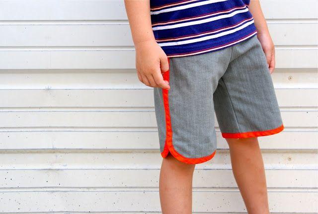 sewing KID Shorts: Racer Shorts | MADE