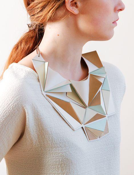 Maud Rondot | Bijoux - geometric necklace
