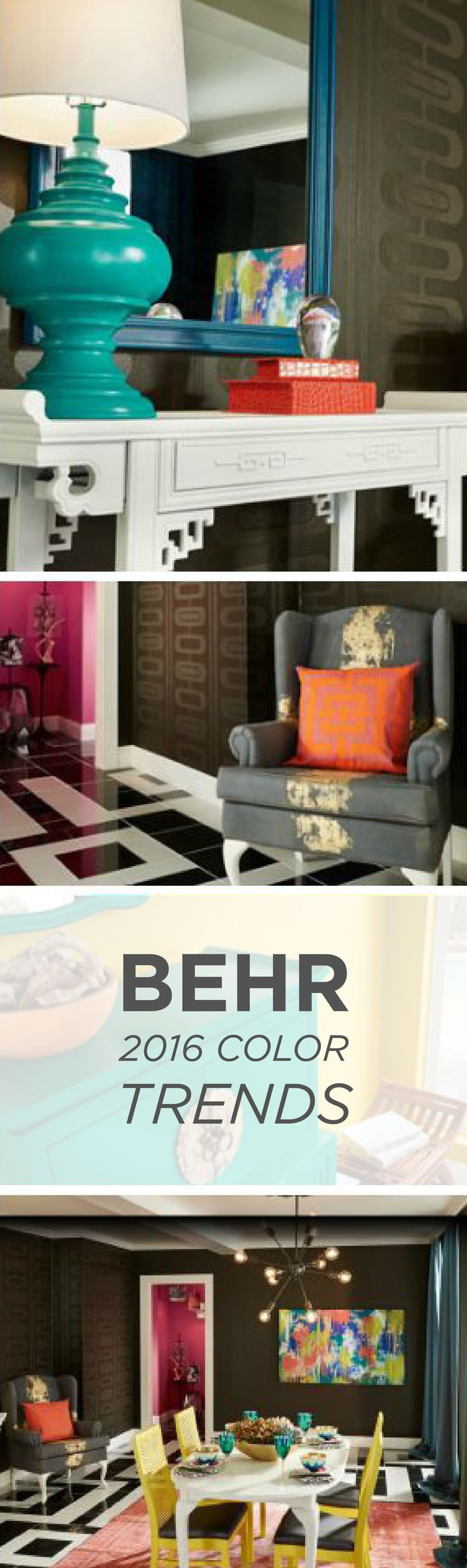 4 Tips For Contrasting Color In Home Decor