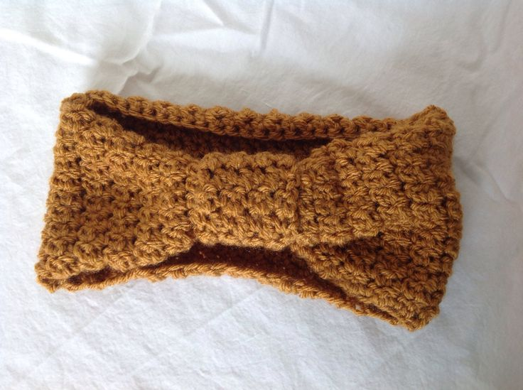 Handmade Bo-ho ear warmer headband handmade turban style winter wear winter accessory Crochet turban style headband (18.00 USD) by GirlCanHook