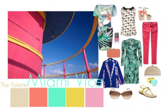 Miami Vice inspired.: Miami Colors, Colors Schemes, Branding Colors Inspiration