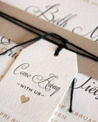Neutral Travel-Themed Destination Wedding Invitations by BC Design via Oh So Beautiful Paper (1)