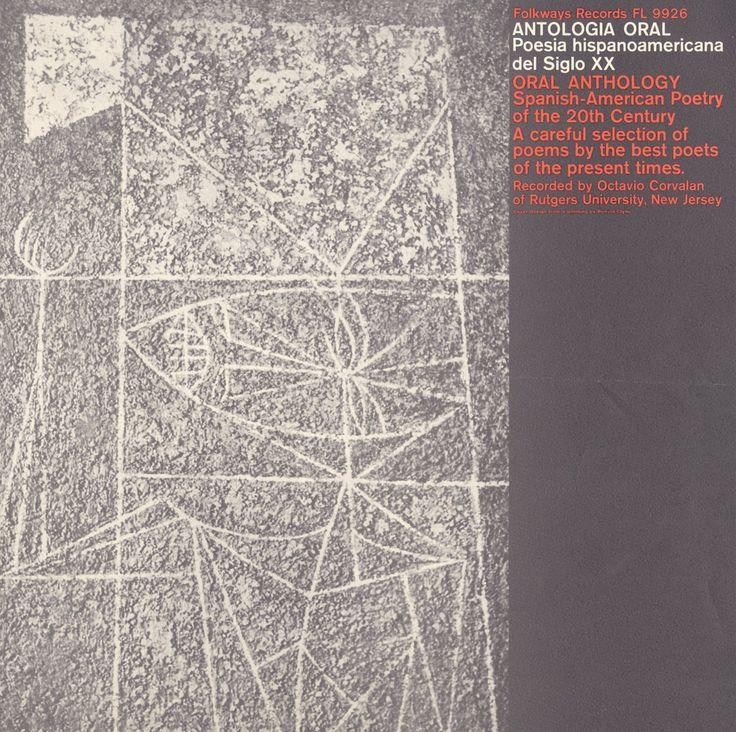 Various - Antologia Oral: Poesia Hispanoamericana Del Siglo XX Oral Anthology: Spanish-American Poetry of the 20th Century