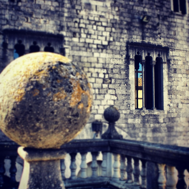 A #view of a #cathedral in #Girona. #Travel.