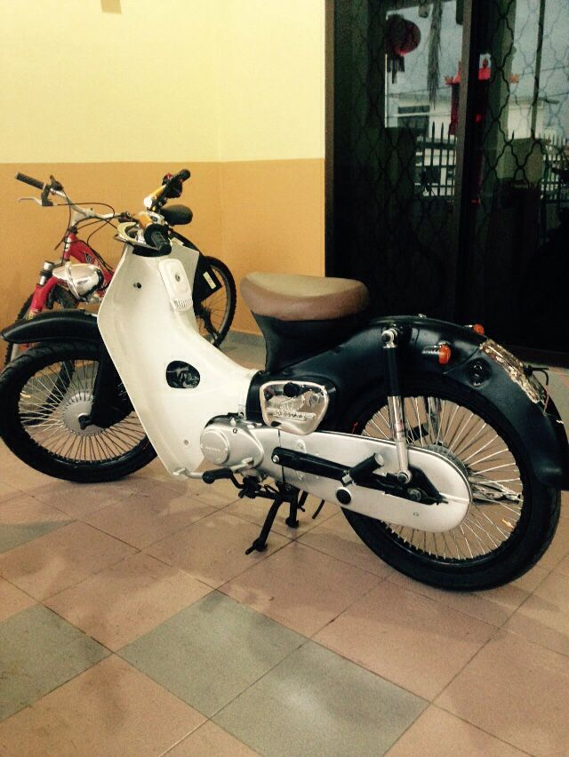 Done 70% for my streetcub c70