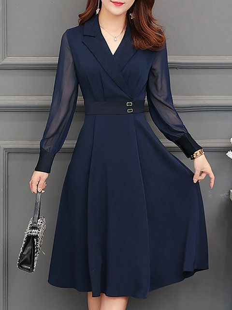 Kaufen Sie Casual Kleider Midi Kleider für Frauen von Fantasyou bei Stylewe. Online Shop…   – Vestidos