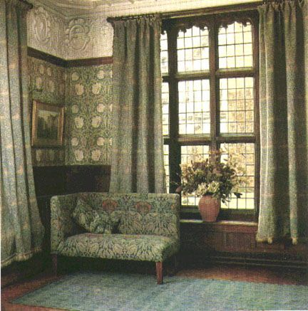 William Morris Victorian Interior