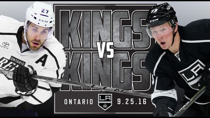 The Ontario Reign, AHL affiliate of the LA Kings, host the Kings for the first-ever Kings vs. Kings intra-squad contest today at 3:00 p.m. at Citizens Business Bank Arena