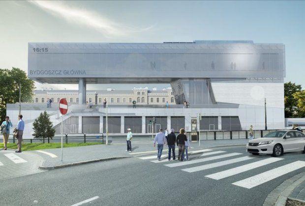 Nowa Bydgoszcz Główna z pozwoleniem na budowę! [NOWE WIZUALIZACJE] - zdjęcie