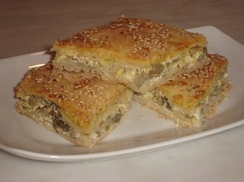 Artichoke Pie. A tasty and healthy pie. This can be served as a side dish, as part of a buffet or as a delicious snack.