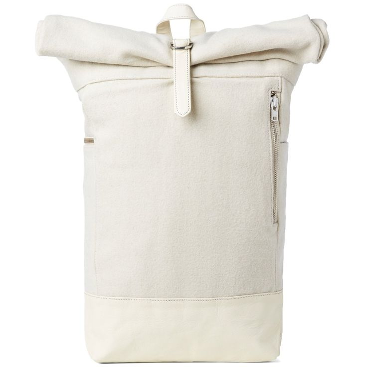 MKI Rolltop Bag (Off White)