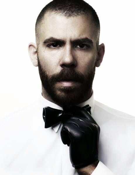 Image Result For Black Tie Hair