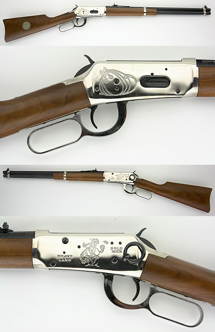 30-30 lever action rifle | WINCHESTER 1894 COWBOY COMMEMORATIVE CARBINE 30-30 LEVER ACTION RIFLE-SR