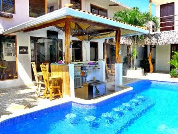 Best 25 pool bar ideas on pinterest bbq area garden - How to make a swimming pool in your backyard ...