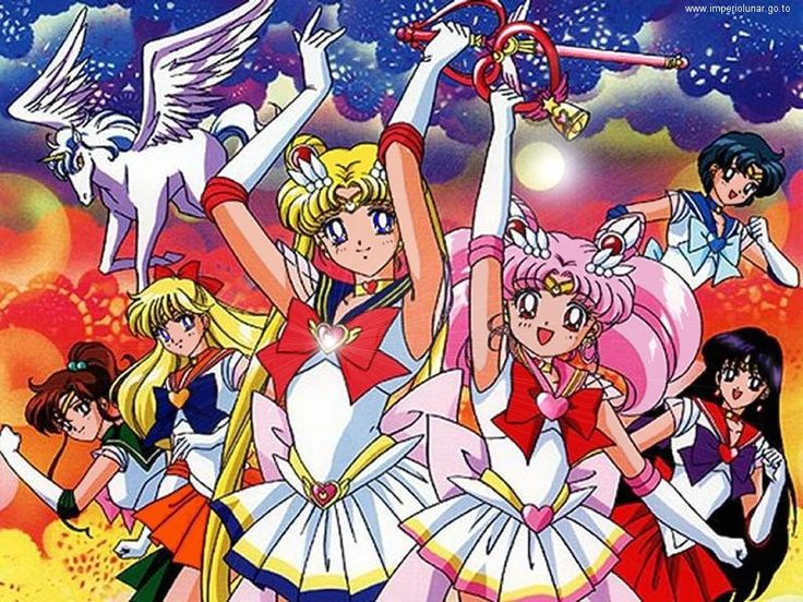 Sailor Moon! one of my favorite anime(s) of all time!