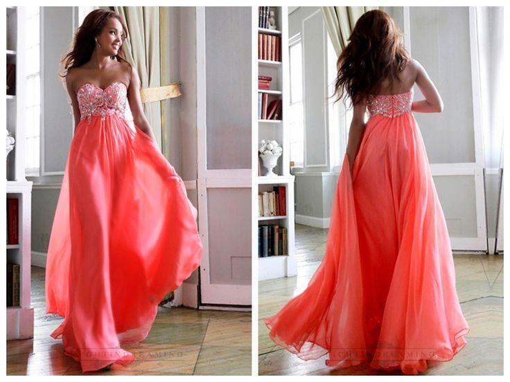 Elegant Strapless Sweetheart Beaded Bodice Floor Length Prom Dresses http://www.ckdress.com/elegant-strapless-sweetheart-beaded-bodice-  floor-length-prom-dresses-p-306.html  #wedding #dresses #dress #lightindream #wed #clothing #gown   #weddingdresses #dressesonline #dressonline #bride