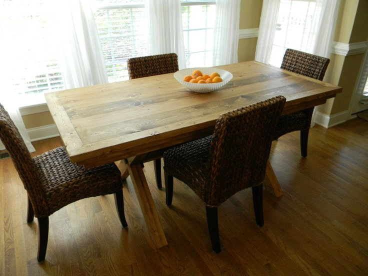 i love this dining room table and chairs