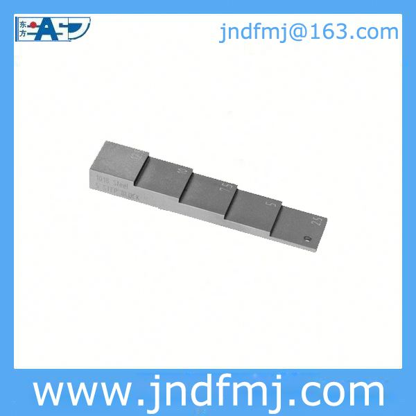 5-step test block: USD65/pc with your Logo Email: jndfmj@163.com