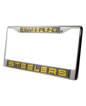Rico Industries Pittsburgh Steelers License Plate Frame - Team Color