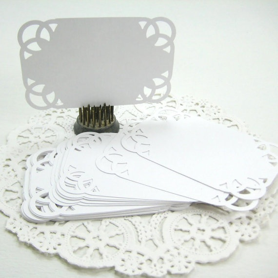 Wedding Escort Cards / Place Seating Cards  SMOOTH by 2HeartStudio, $2.50
