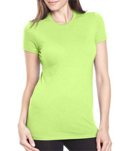 3300L Next Level The Perfect Tee Apple Green