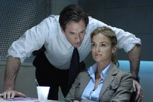 Agent Strahm (Scott Patterson) and Jill Tuck (Betsy Russell)